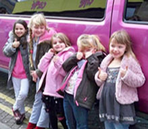 Kids Parties Limo Hire
